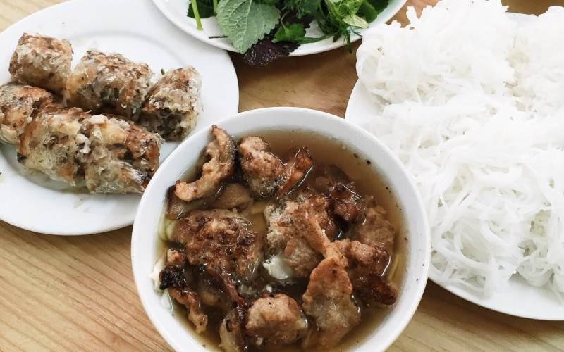 dac kim-kebab rice noodle-bun cha-best kebab rice noodle in ha noi4