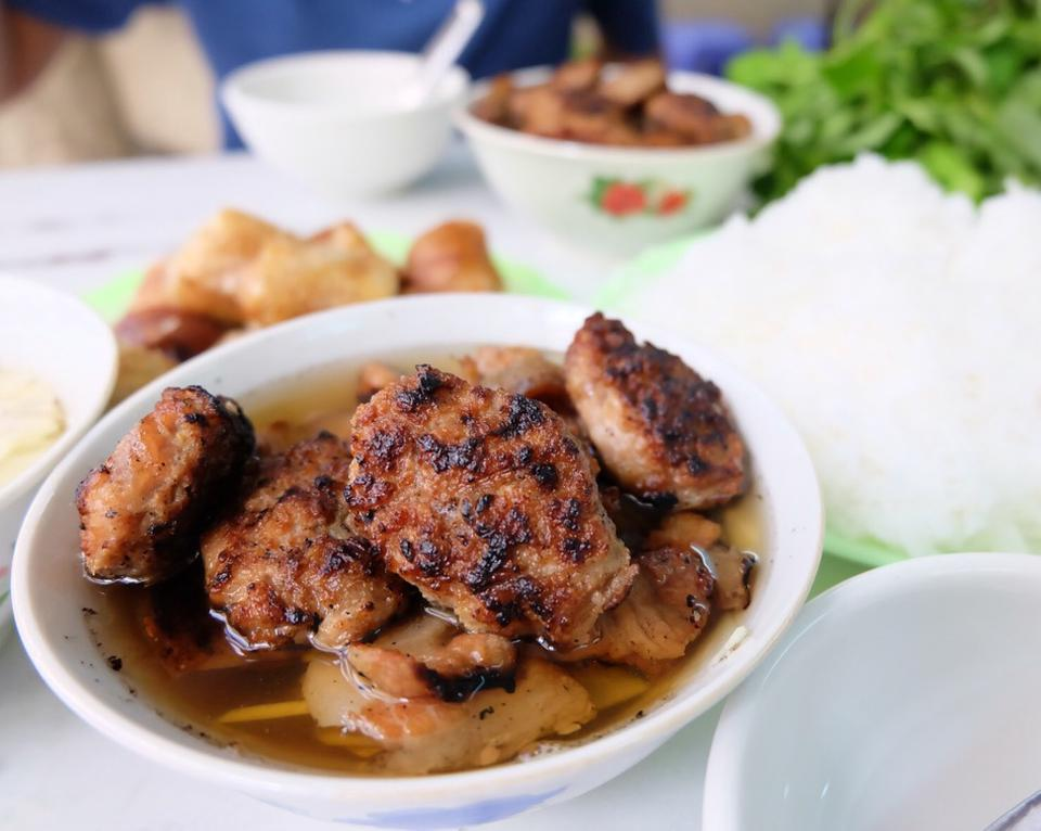 hang khoai-kebab rice noodle-bun cha-b