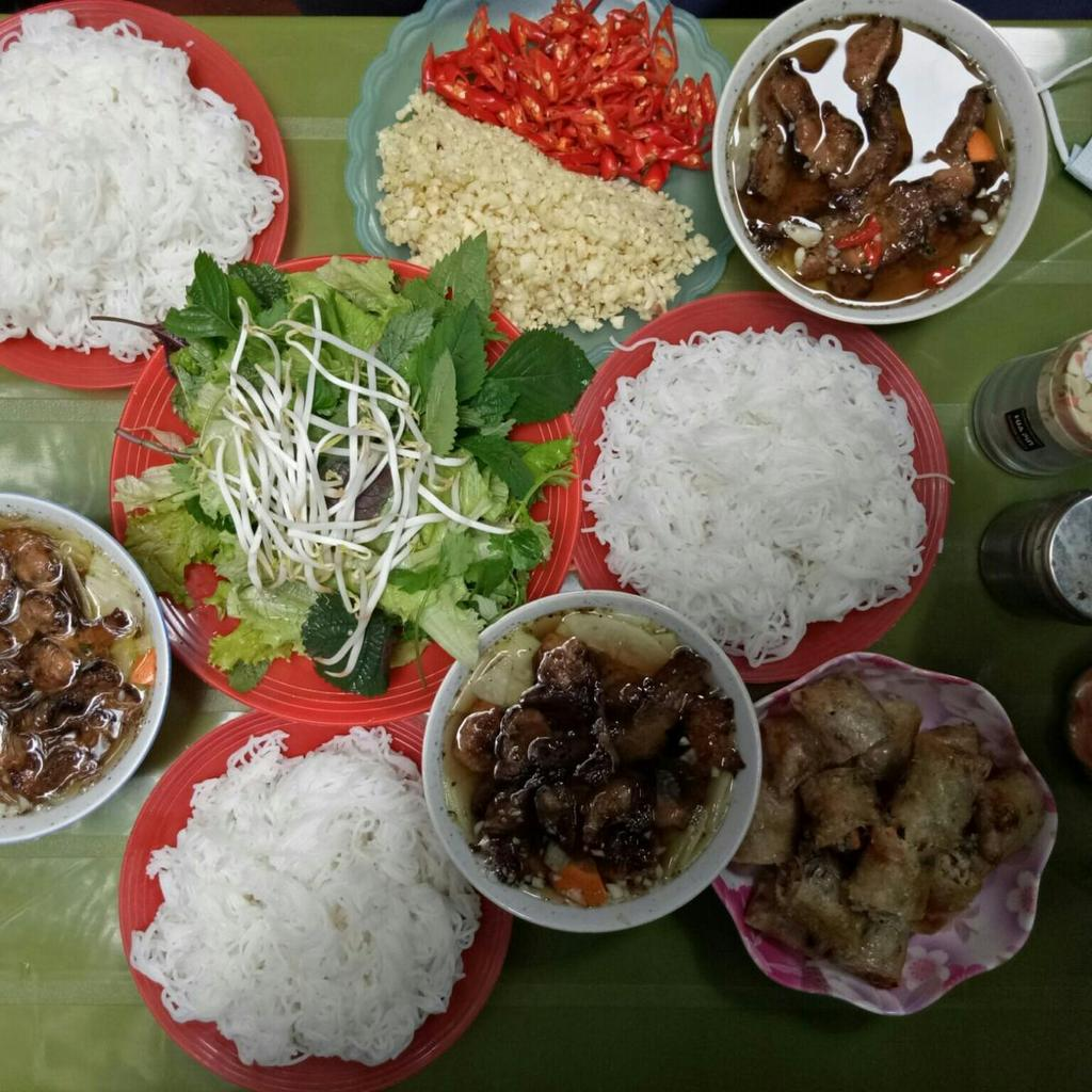 hang quat-kebab rice noodle-bun cha-best kebab rice noodle in ha noi