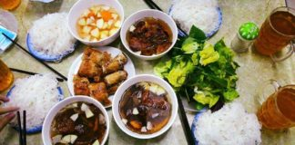 Bun cha Hanoi (Bún chả Hanoi). One of the best traditional dishes you must-eat in Hanoi