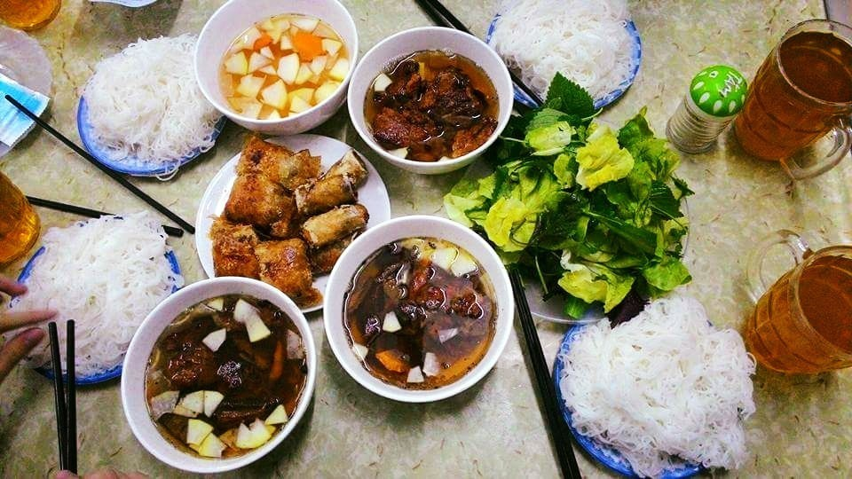 Bun cha Hanoi — Top 14 bun cha (kebab rice noodles) eateries in Hanoi you need to try - Living + Nomads – Travel tips, Guides, News & Information!