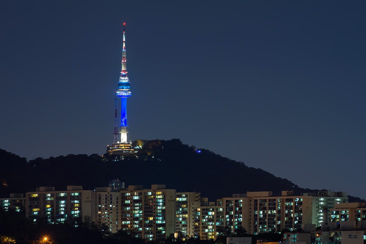 visiting n seoul tower namsan tower � a tourist icon of