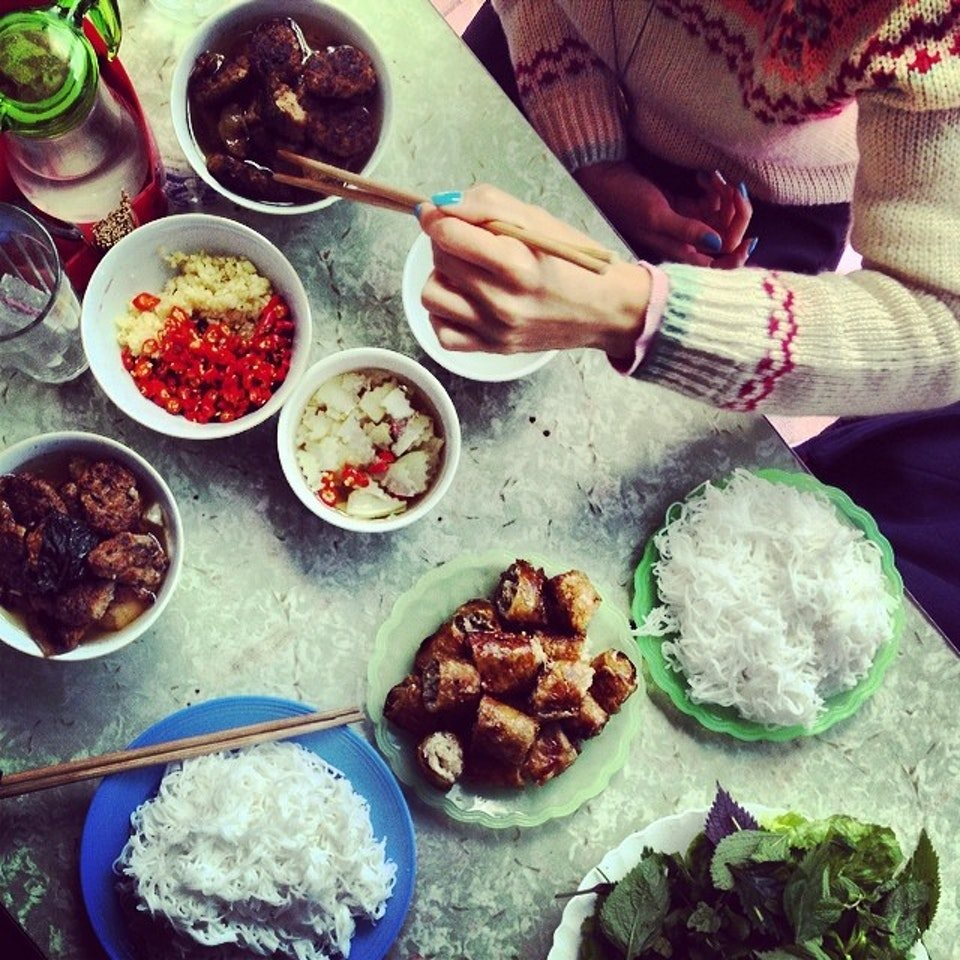 phat loc-kebab rice noodle-bun cha-best kebab rice noodle in ha noi3