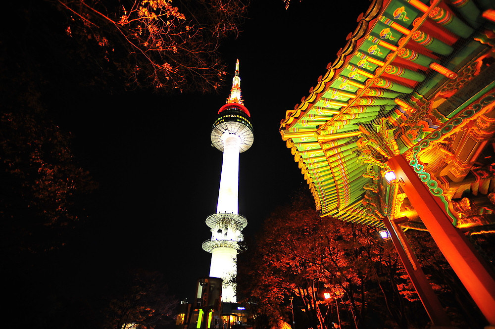 N Seoul tower 5 days in seoul recommended seoul itinerary seoul itinerary 5 days what to do in seoul for 5 days