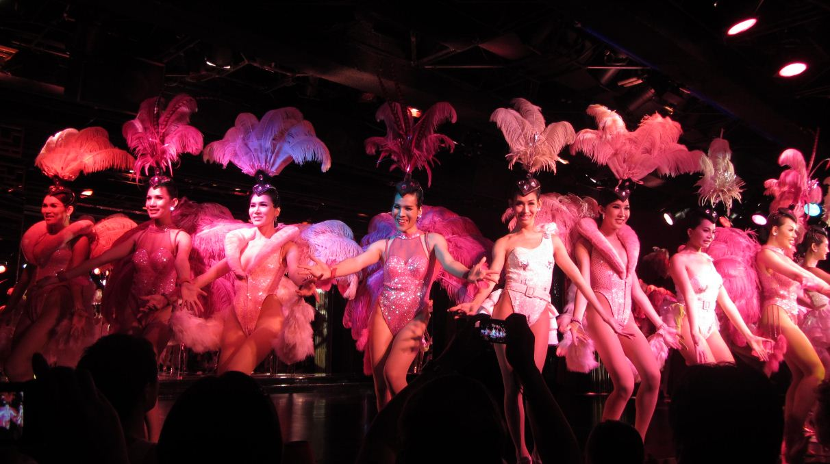 Calypso Cabaret Show. One of Bangkok's best shows