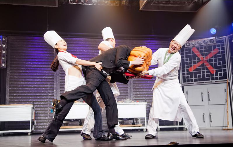 Nanta Show (Nanta Cooking Show). One of the best live shows in Bangkok