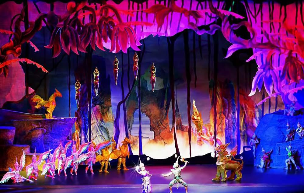 Siam Niramit show. One of the best live shows in Bangkok