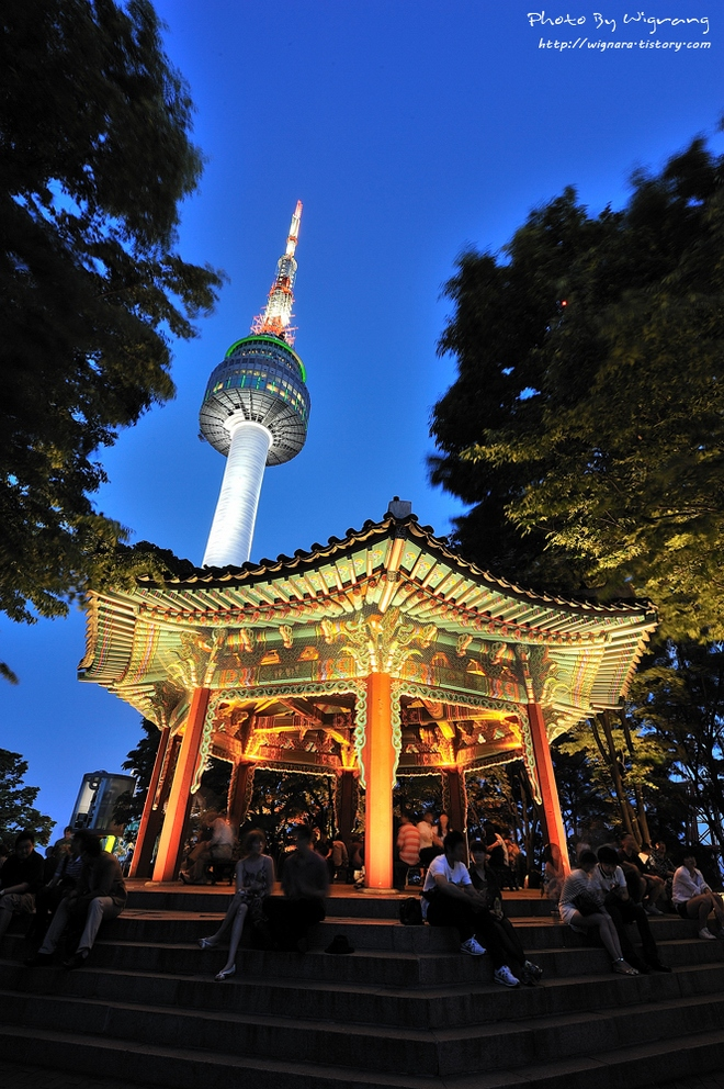 n seoul tower korea