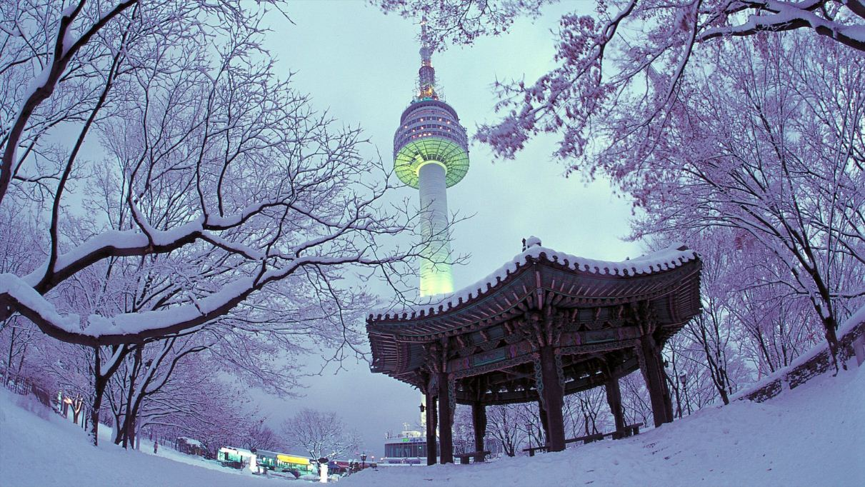 n seoul tower south korea 4