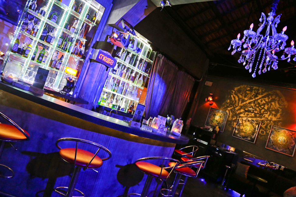 Mezze Lounge & Nightclub Mezze bar Siem Reap. One of the best bars in Siem Reap.