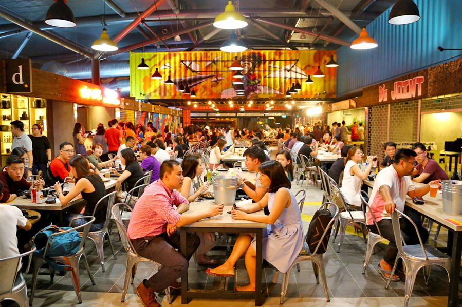 A hawker food in Singapore