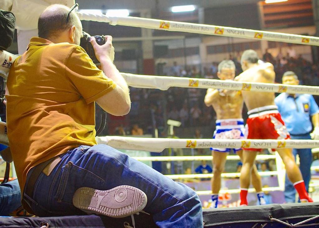 Muay Thai match,Bangkok