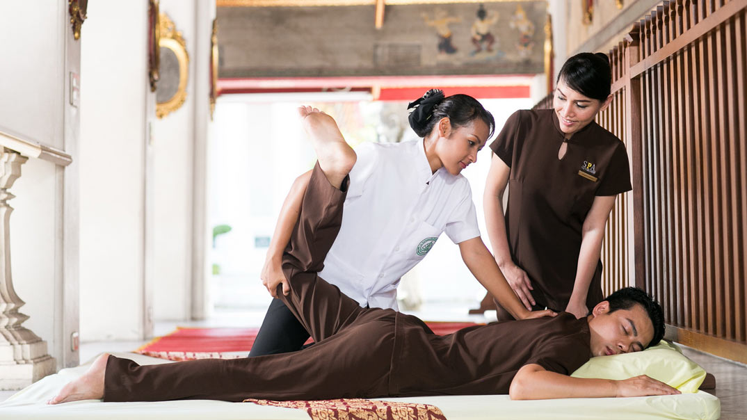 Thai massage,Bangkok