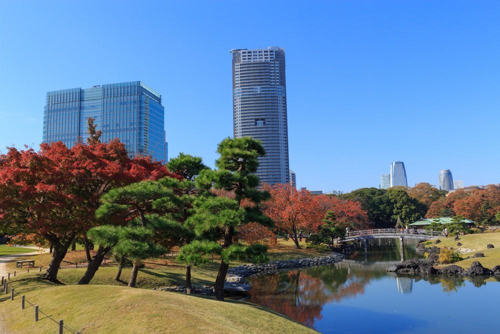 Hamarikyu Gardens, Tokyo1