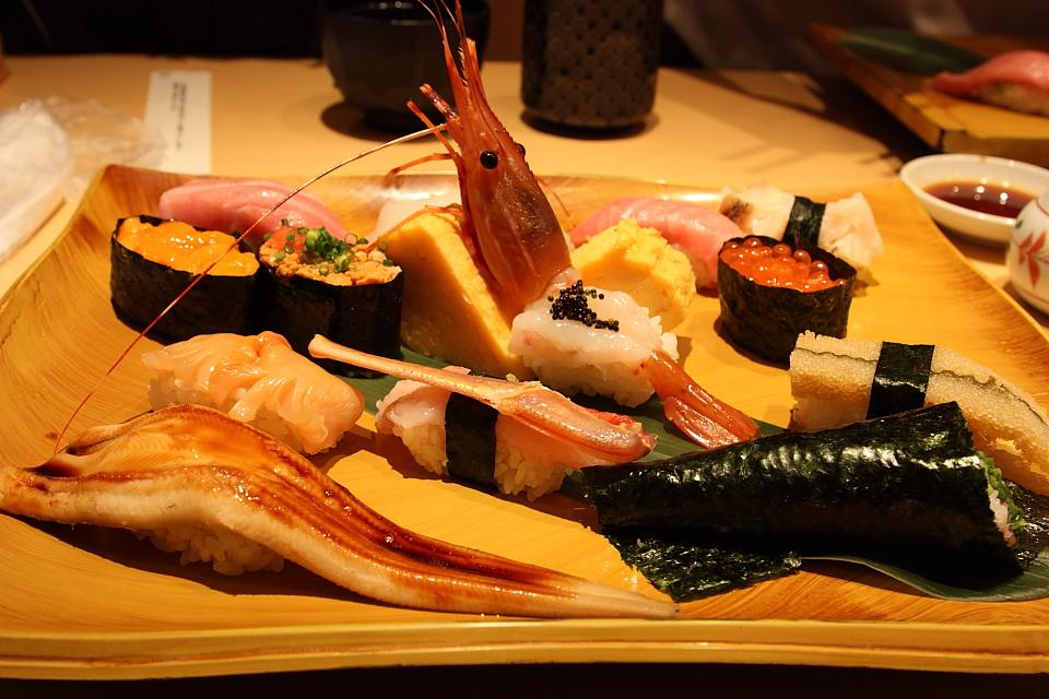 sushi shop, Tokyo