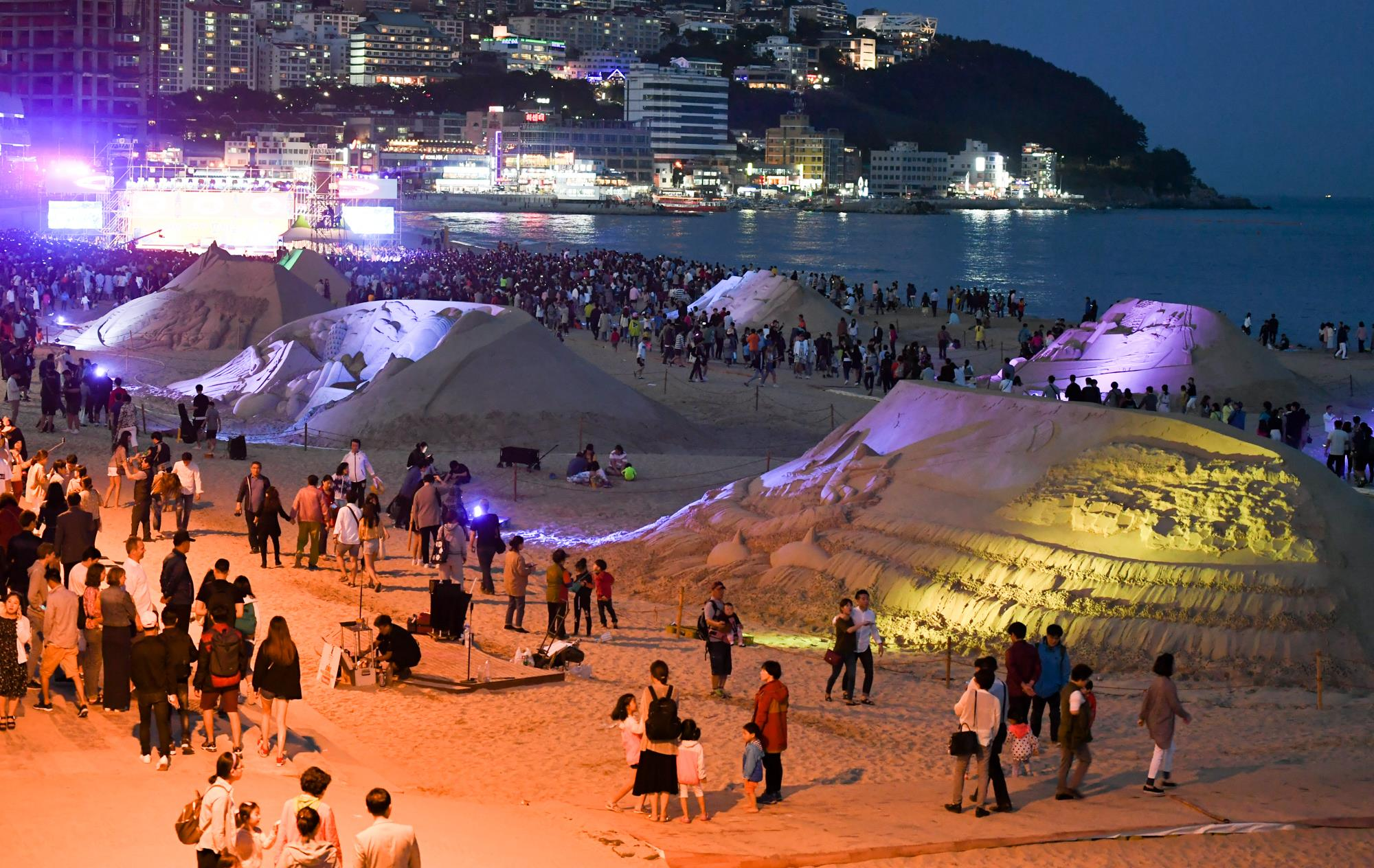 Haeundae Beach , Korea