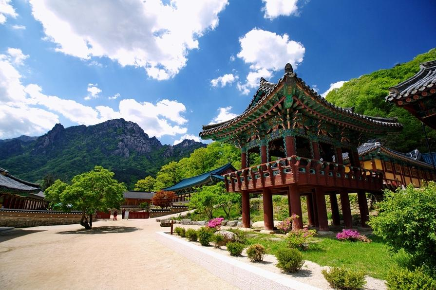 Naksan temple, Korea