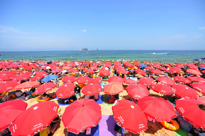 Sokcho Beach, Korea one of the best beaches in South Korea