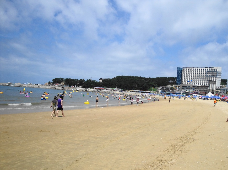 Eulwangni Beach , Korea one of the best beaches in South Korea