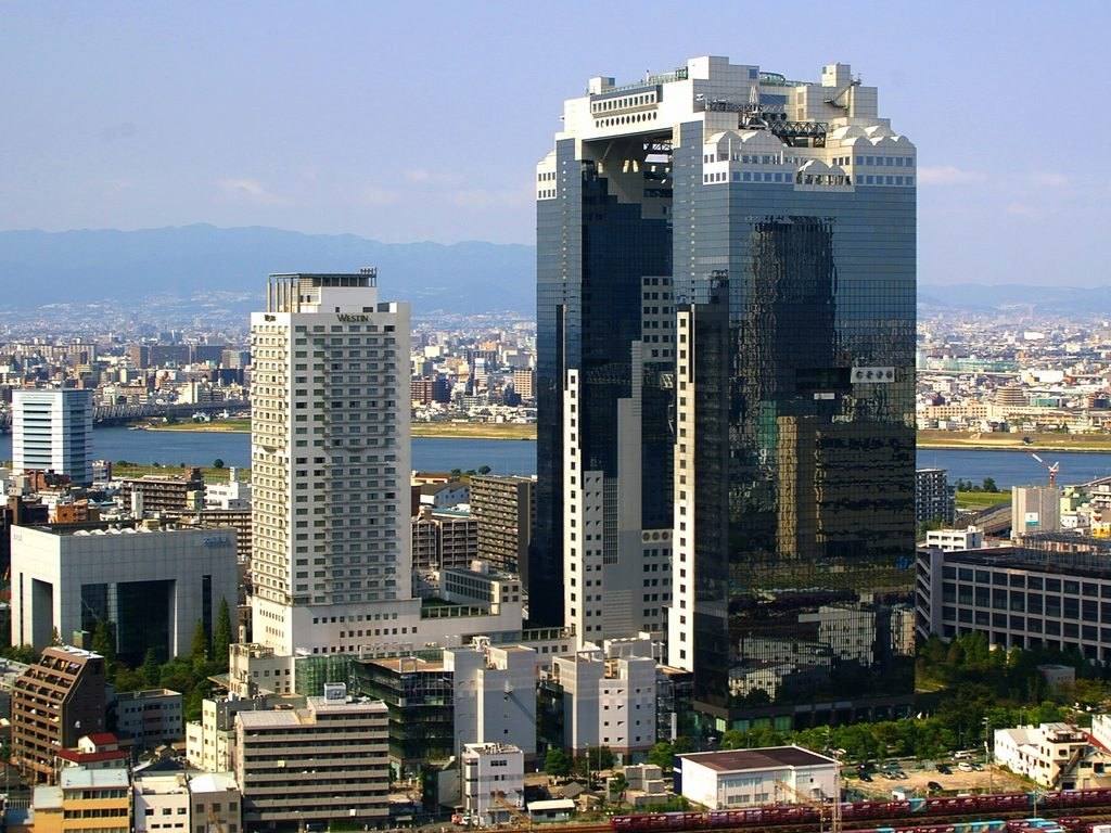 Umeda Sky Building, Osaka Image of Osaka itinerary 3 days blog.