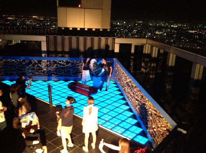 Umeda Sky Building floating garden, Osaka