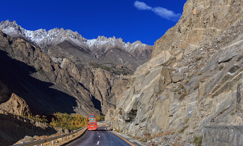 Karakoram highway (The Silk Route)