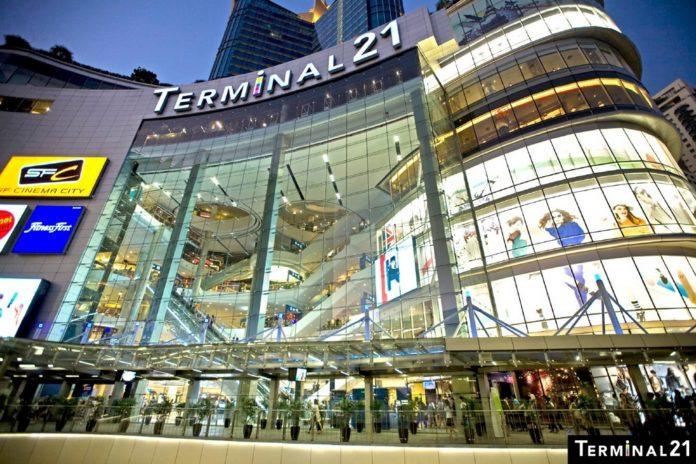 terminal 21 bangkok thailand