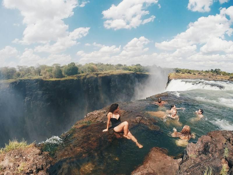 Devil's Pool-Victoria Falls-Zabia