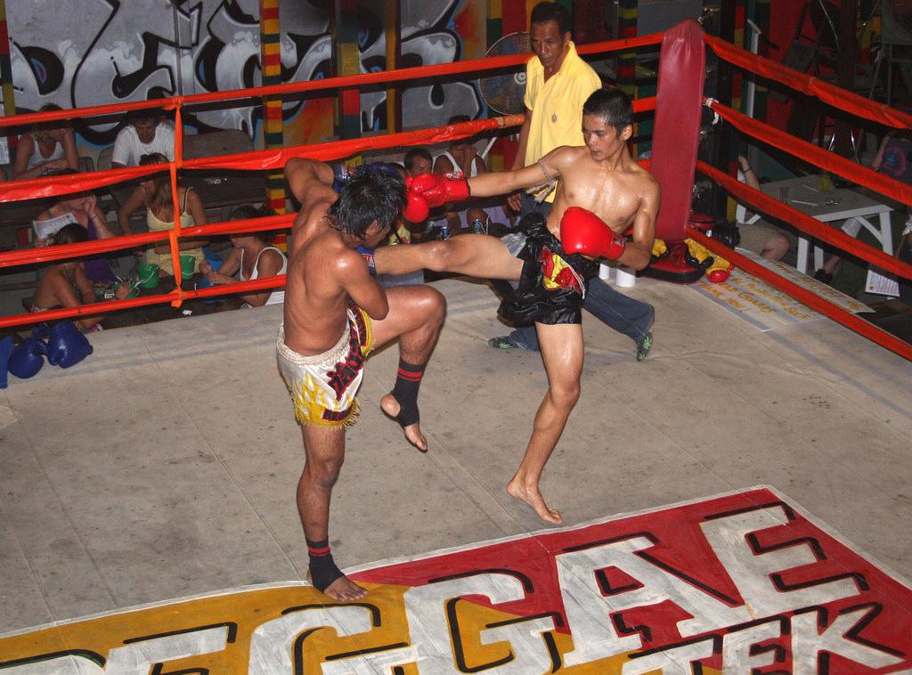 Thai Boxing In Koh Phi pHi