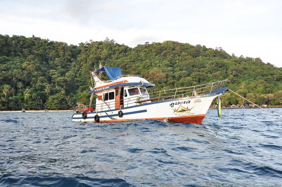 go fishing in Koh Phi Phi