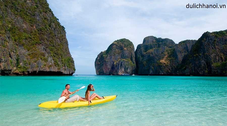 kayak in Koh phi phi