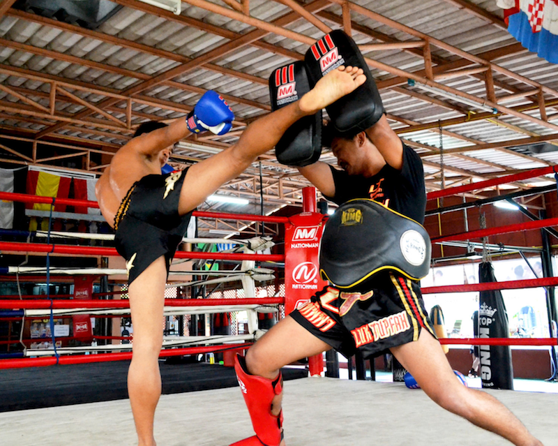 Thai Boxing In Koh Phi phi