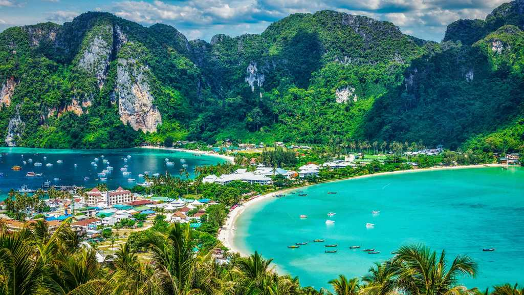 koh phi phi island thailand best quiet islands in thailand