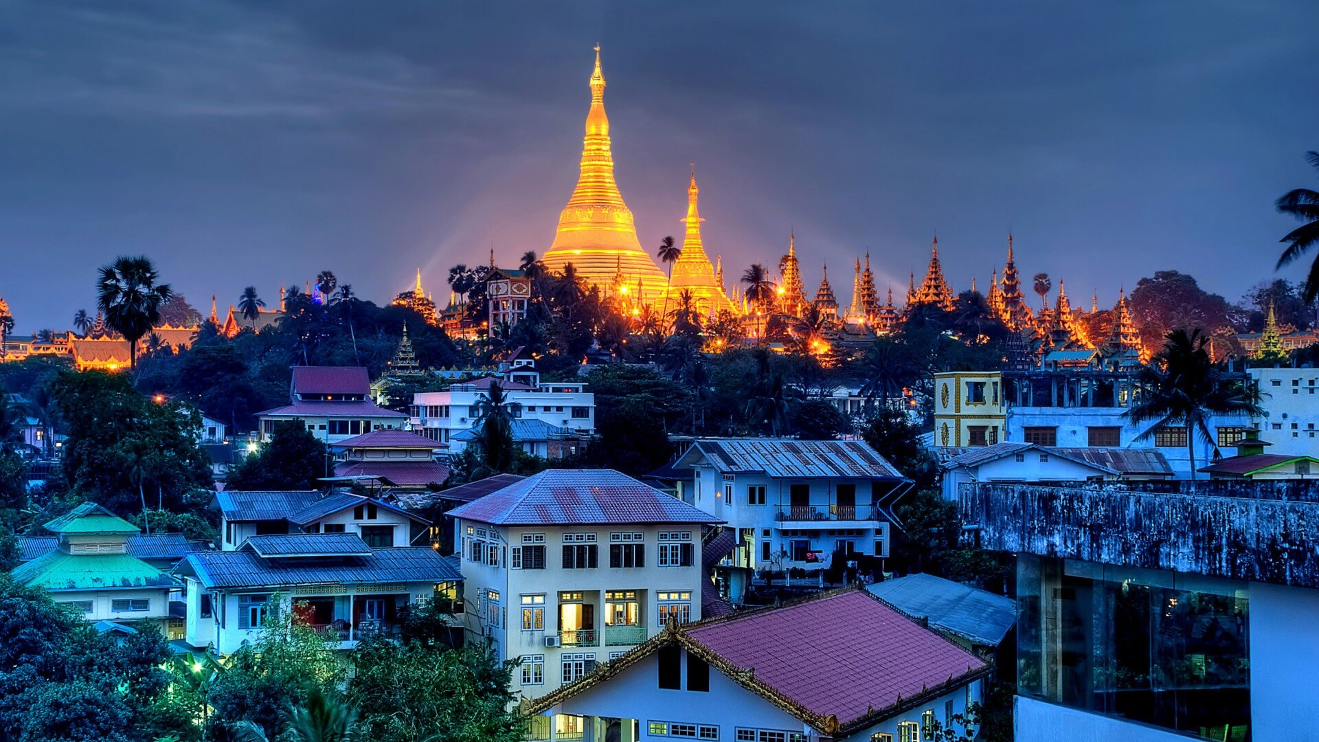 Yangon City, Myanmar