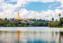 Yangon which is like a glittering jewel in the center of Myanmar, one of the best places for you to visit in Myanmar. Image oftop things to do in Yangon travel blog.