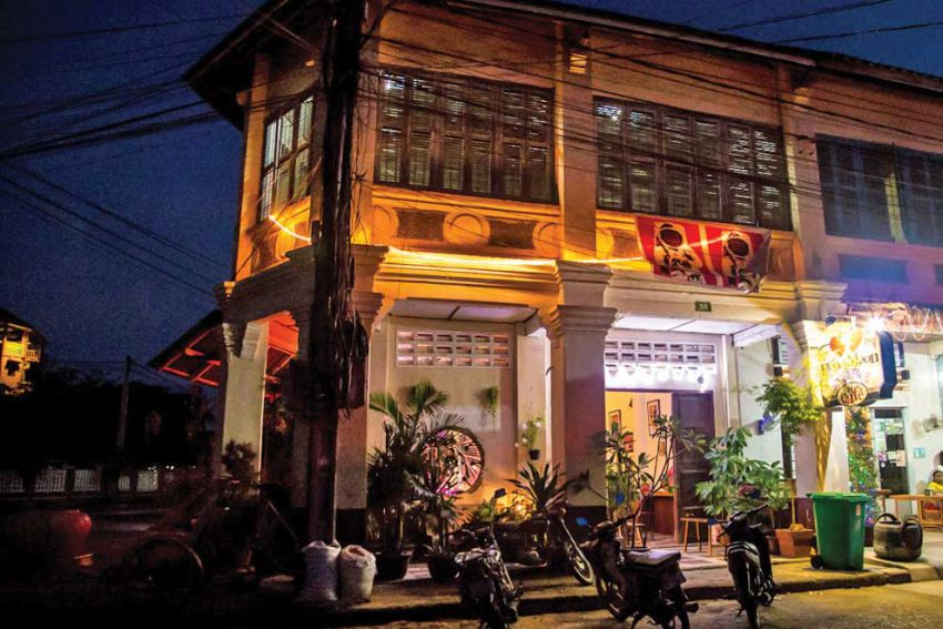 The architecture of Kampot
