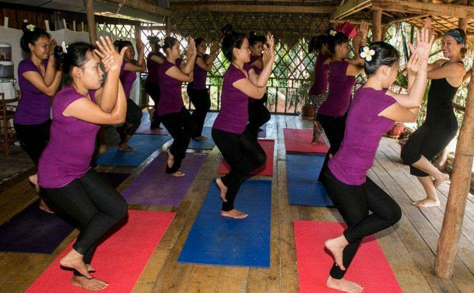 Yoga classes in Kampot