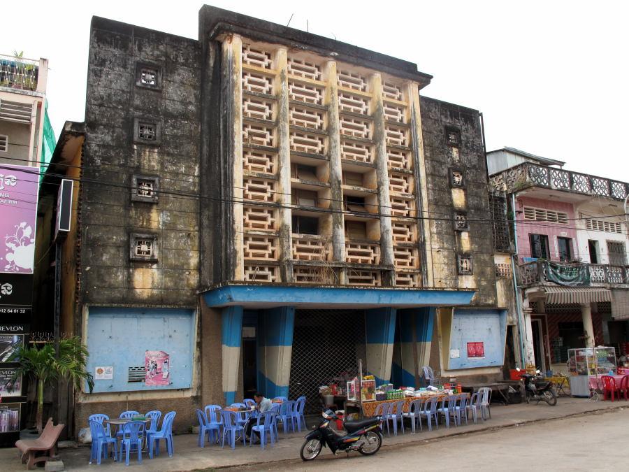 architecture of Kampot