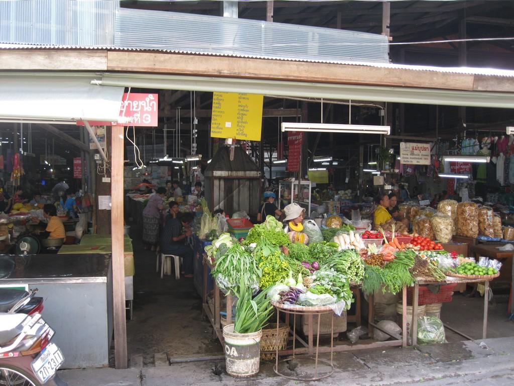 Sompet market chiangmai thailand Sompet Market Chiang Mai