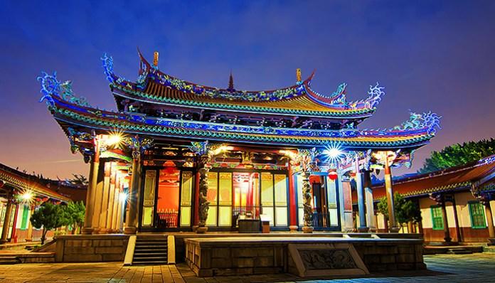 Confucius Temple,Taipei
