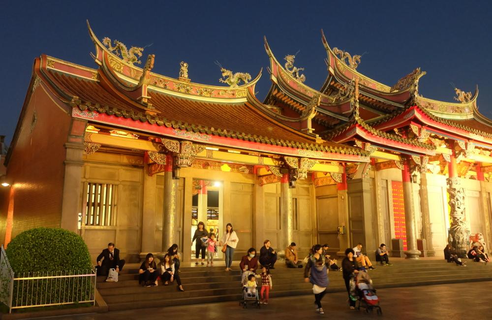 Longshan-Temple, taiwan