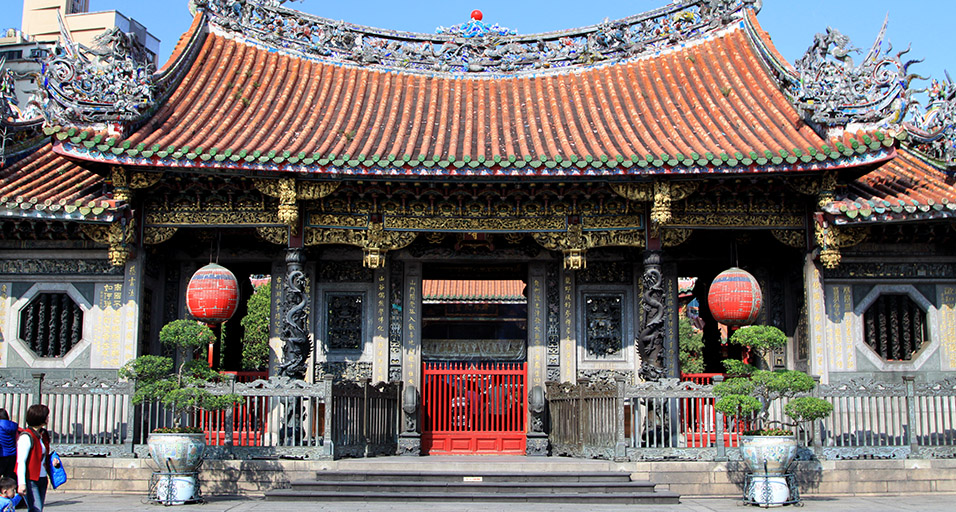 Longshan Temple,taipei Foto: taiwan travel itinerary 6 days blog.