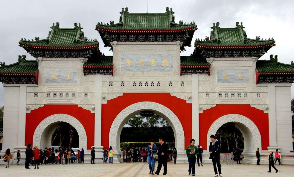 National Revolutionary Martyrs' Shrine, taipei5