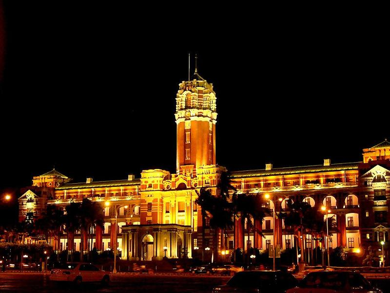 Presidential Palace,taipei Image credit: best things to do in taipei blog.