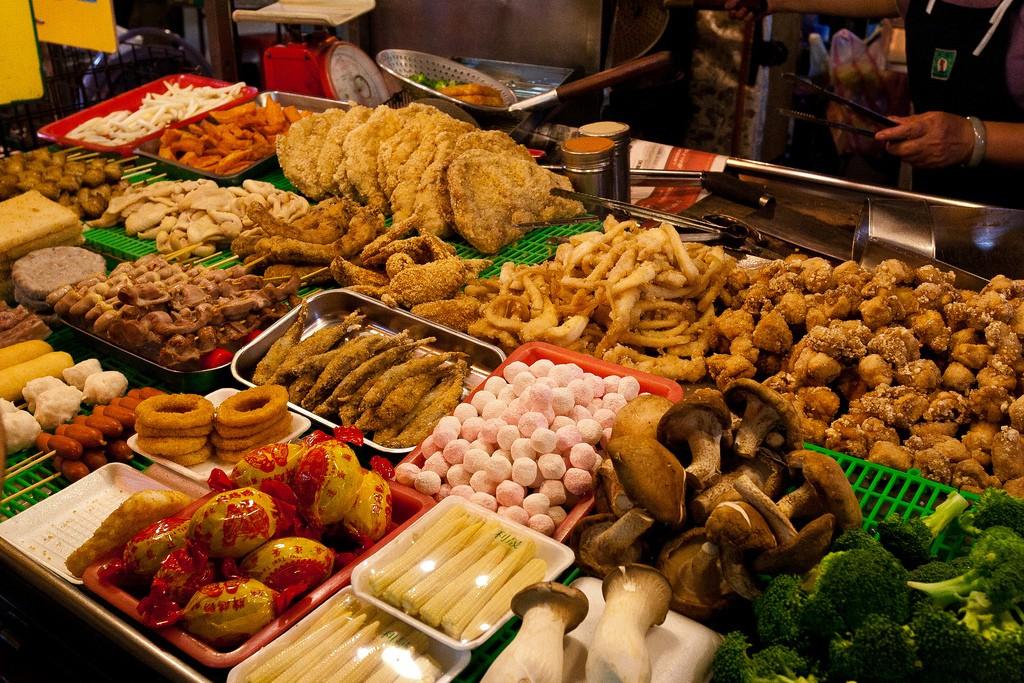 Raohe Road Night Market food