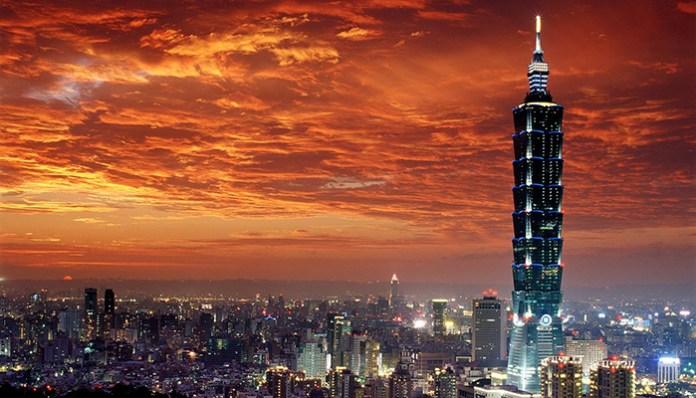 Taipei 101 Image credit: best things to do in taipei blog.