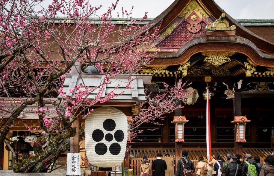 Kitano Tenmangu Temple4, Kyoto
