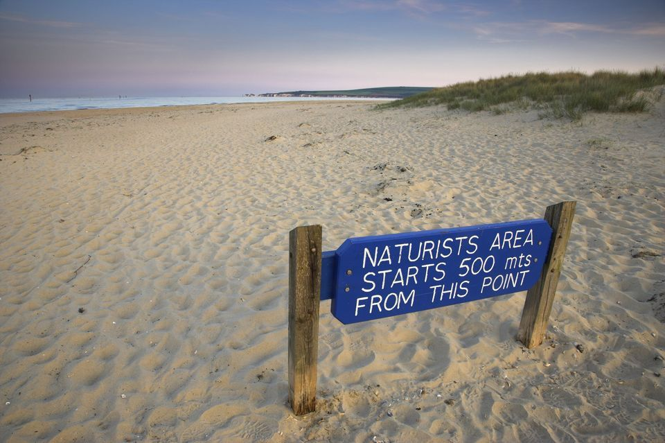 Best nudist beaches in england