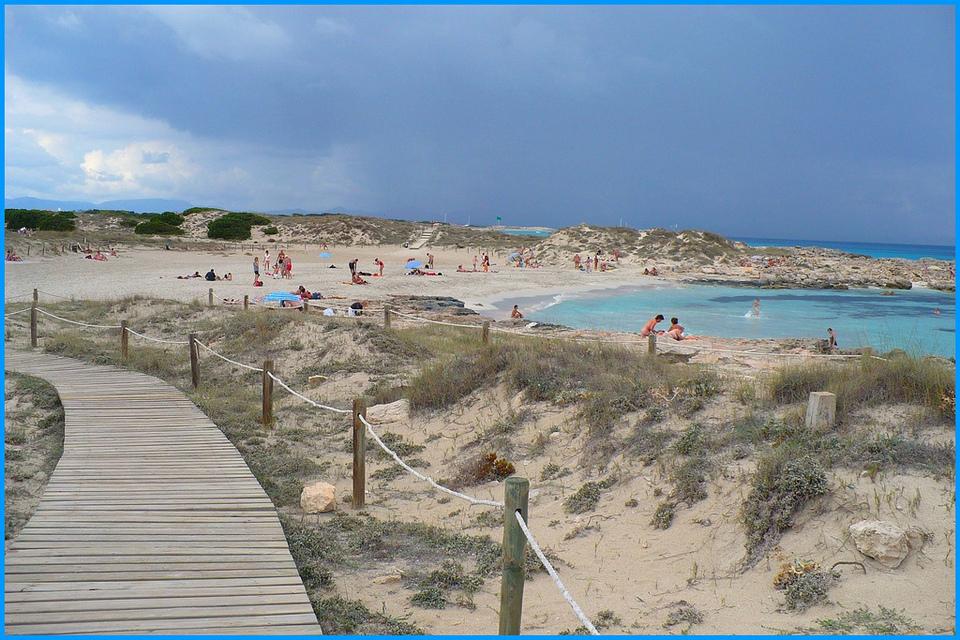 Ibiza nude beach spain