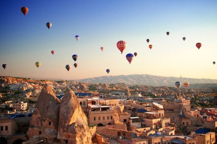 Cappadocia valley turkey
